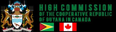 Guyana High Commission – Ottawa Logo